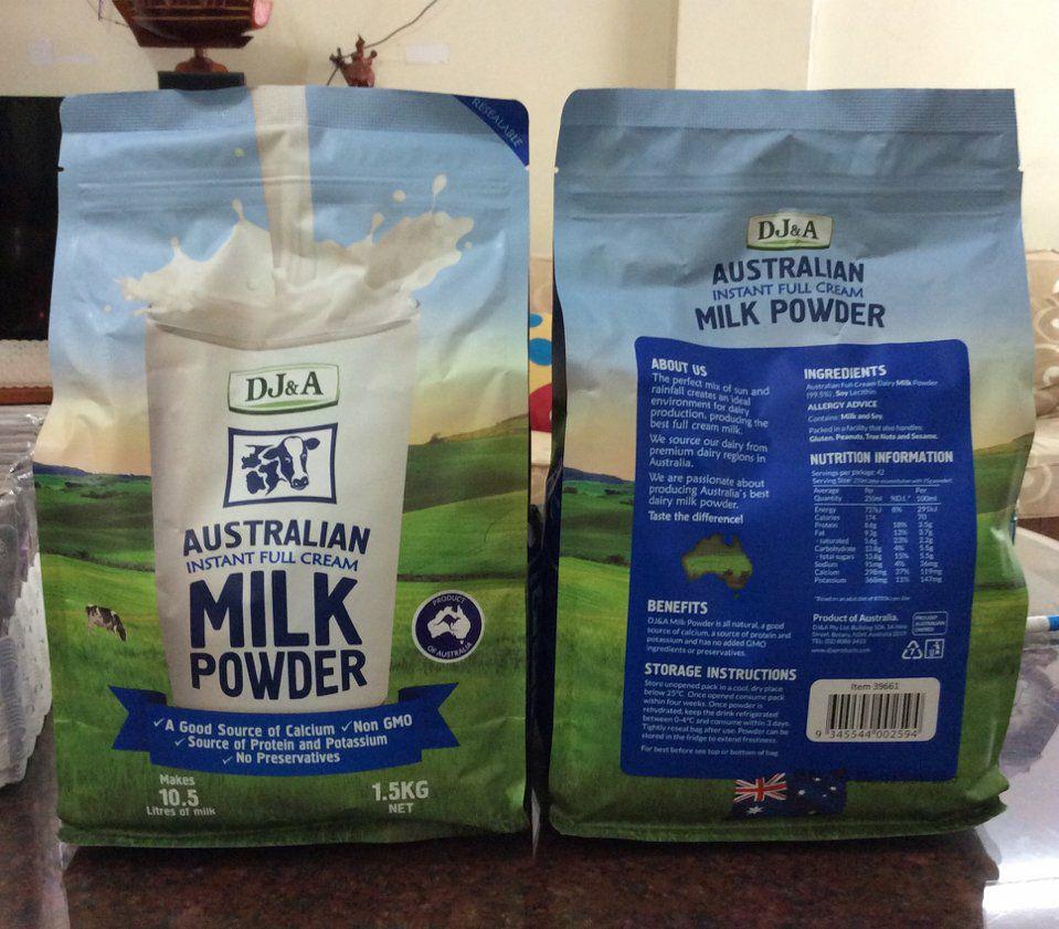 Những thông tin cần biết về thủ tục nhập khẩu sữa bột từ Úc